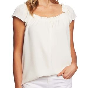 NWT Cece By Cynthia Steffe Square Neck Blouse